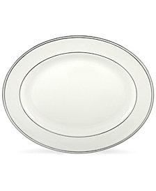 "Lenox Federal Platinum 13"" Oval Platter"