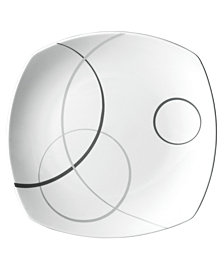 Mikasa Dinnerware, Geometric Circles Salad Plate