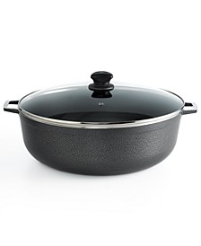 Hammered Aluminum 11.6 Qt. Covered Caldero