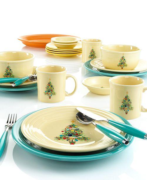 Fiesta Christmas Tree Collection & Reviews - Dinnerware ...