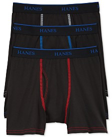 Hanes X-Temp Performance 3-Pk. Boxer Briefs, Little Boys & Big Boys