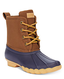 Tommy Hilfiger' Ryan Duck Boots, Little Boys & Big Boys
