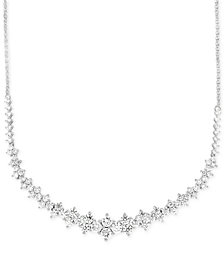 Wrapped In Love Diamond Necklace (2-1/2 ct. t.w.) in 14k White Gold, Created for Macy's