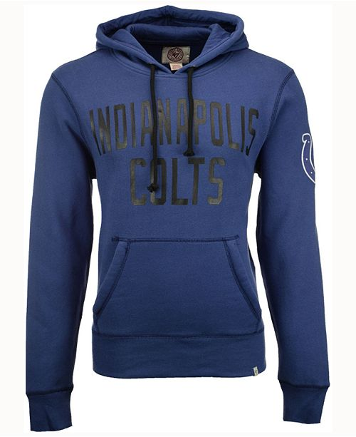 '47 Brand Men's Indianapolis Colts Crosscheck Hoodie