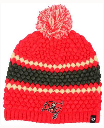'47 Brand Women's Tampa Bay Buccaneers Leslie Pom Knit