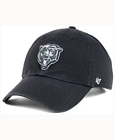 '47 Brand Chicago Bears Charcoal White Clean Up Cap