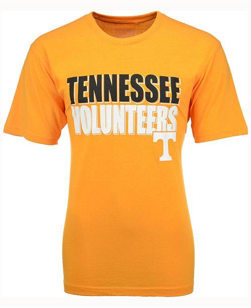Colosseum Men's Tennessee Volunteers Wordmark Stack T-Shirt