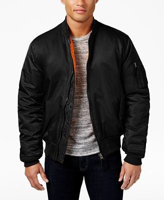 Ring of Fire Men's Bomber Jacket, Created for Macy's
