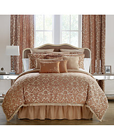 Waterford Reversible Margot Persimmon Comforter Sets