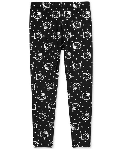 23e770770 Hello Kitty Metallic-Print Leggings, Toddler Girls & Reviews - Jeans ...