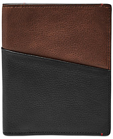 Fossil Men's Leather RFID Passport Case
