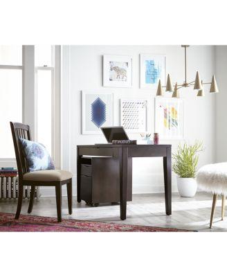 tribeca home office furniture, 2 piece set (desk & file cabinet