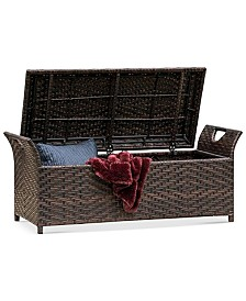 Gladin Outdoor Storage Bench, Quick Ship