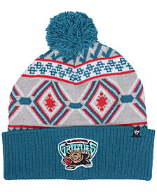 '47 Brand Vancouver Grizzlies Hardwood Classic Up North Knit Hat