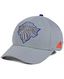 adidas New York Knicks Gray Color Pop Flex Cap