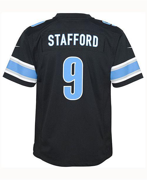 5ee1dfc3 Nike Matt Stafford Detroit Lions Color Rush Jersey, Big Boys (8-20 ...