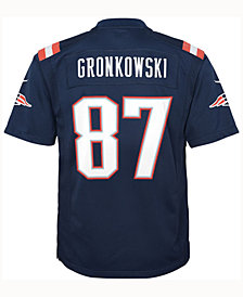 Nike Rob Gronkowski New England Patriots Color Rush Jersey, Big Boys (8-20)