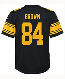 Nike Antonio Brown Pittsburgh Steelers  Color Rush Jersey, Big Boys (8-20)