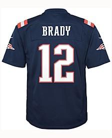 Tom Brady New England Patriots Color Rush Jersey, Big Boys (8-20)