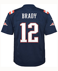 Nike Tom Brady New England Patriots Color Rush Jersey, Big Boys (8-20)