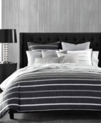 CLOSEOUT! Hotel Collection Colonnade Dusk Duvet Covers, Created for Macy's