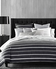CLOSEOUT! Hotel Collection Colonnade Dusk Comforters, Created for Macy's