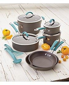 Cucina Hard-Anodized Nonstick 12-Pc. Cookware Set
