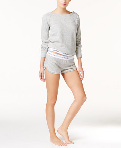 Calvin Klein Modern Cotton Lounge Top & Shorts