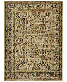 Karastan Spice Market Cassis Cream Area Rug Collection