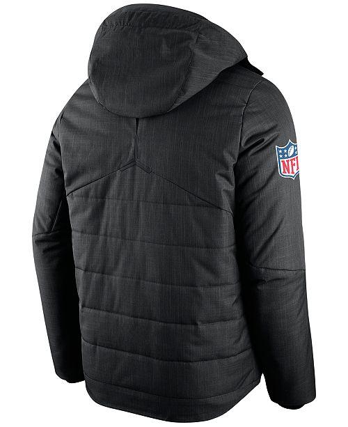 sports shoes d248a 4d5b9 Nike Men's Philadelphia Eagles Sideline Jacket & Reviews ...