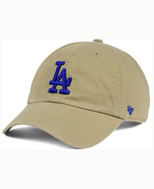 Los Angeles Dodgers Khaki Clean UP Cap