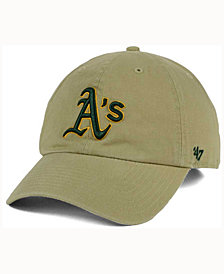 '47 Brand Oakland Athletics Khaki Clean UP Cap