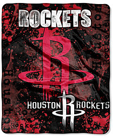 Northwest Houston Rockets Drop-Down Plush Throw Blanket