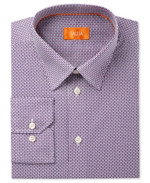 Click here for Tallia Men's Fitted Basketweave Dress Shirt prices