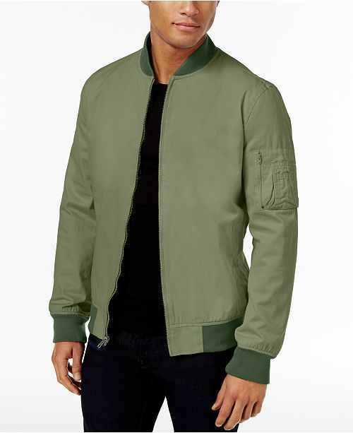 8a68b6199 American Rag Men's Bomber Jacket, Created for Macy's & Reviews ...