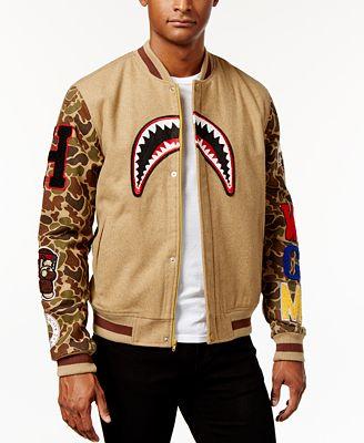 Hudson NYC Varsity Jacket - Coats u0026 Jackets - Men - Macyu0026#39;s