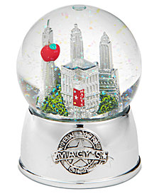 Macy's Small New York Water Globe