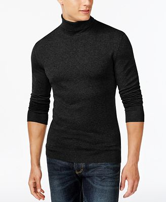 Alfani Men's Turtleneck Sweater, Created for Macy's - T-Shirts ...