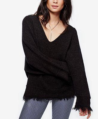 Free People Irresistible Fringe Sweater