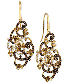 Le Vian Chocolatier® Diamond Drop Earrings (1-3/4 ct. t.w.) in 14k Gold