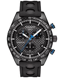 Tissot Men's Swiss Chronograph PRS 516 Black Rubber Strap Watch 42mm T1004173720100