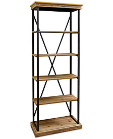 Kelmar 5 Tier Bookcase, Quick Ship