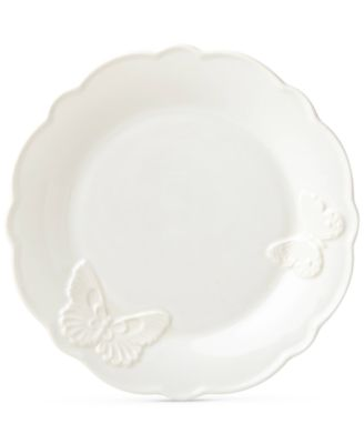 Butterfly Meadow Carved Collection Accent Plate