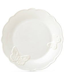 Lenox Butterfly Meadow Carved Collection Accent Plate