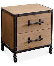 Kaston 2 Drawer Nightstand, Direct Ship
