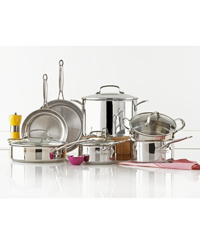 Cuisinart Pro Series Stainless Steel 11-Pc. Cookware Set