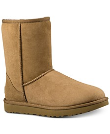Women's Classic Short II Genuine Shearling Lined Boots