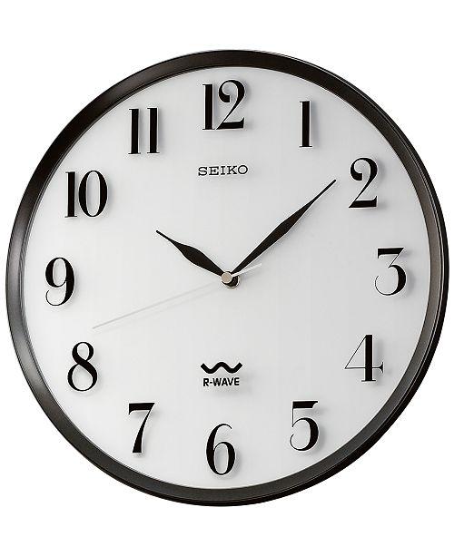 Seiko R Wave Atomic Wall Clock Reviews Clocks Home