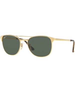 Men's Retro Sunglasses, Vintage Sunglasses Ray-Ban Polarized Sunglasses RB3429M Signet $199.99 AT vintagedancer.com