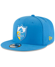 New Era San Diego Chargers Historic Vintage 9FIFTY Snapback Cap